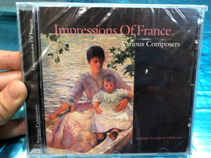 Impressions Of France - Various Composers / London Symphony Orchestra / A-Play Classics Audio CD 1998 / 9018-2