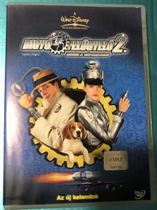Inspector Gadget 2. DVD 1983 Gógyi felügyelő 2 / Directed by Alex Zamm / Starring: French Stewart, Elaine Hendrix, D. L. Hughley (5996255709773)