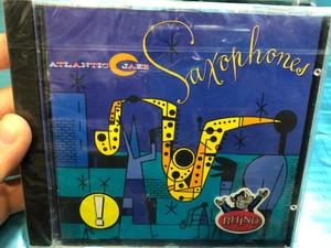 Atlantic Jazz: Saxophones / Rhino Records Audio CD 1993 / 8122-71256-2
