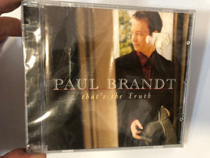 Paul Brandt – That's The Truth / Reprise Records Audio CD 1999 / 9362-47319-2