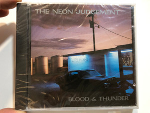 The Neon Judgement – Blood & Thunder / Play It Again Sam Records Audio CD / BIAS 135 CD
