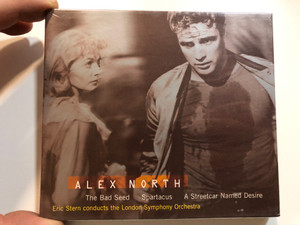 Alex North - The Bad Seed, Spartacus, A Streetcar Named Desire / Eric Stern conducts the London Symphony Orchestra / Nonesuch Audio CD / 7559-79446-2