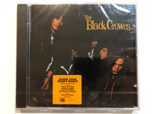 The Black Crowes – Shake Your Money Maker / Digitally Remastered! / Features: Twice As Hard, Jealous Again, Hard To Handle, She Talks To Angels. Plus: Bonus Tracks / American Recordings Audio CD / 88697-14635-2