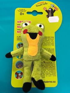 Krtek - Žabka 10cm prstový maňásek / Frog 10cm finger puppet (Mole) / Frosch 10cm Fingerpuppe (Maulwurf) / 29919Z (8590121299190)