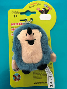 Krtek - Little Mole - Hedgehog snap hook 8 cm / Ježek karabinka Krtek 8cm / Igel 8cm Schlüsselanhänger / 35915Y / Ages 1+ (8590121359153)