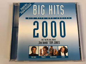 Big Hits 2000 - Die Hits des Jahres / Incl. Top Hit des Jahres ''Sex bomb'' Tom Jones / Tom Jones, Melanie C, Olsen Brothers, DJ Ötzi / Disky Audio CD 2000 / GDC 610202