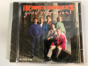 The King's Singers – Good Vibrations / RCA Victor Audio CD 1992 / 09026 60938 2