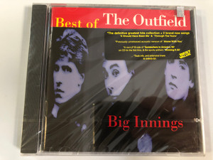 Best Of The Outfield - Big Innings / The definitive greatest hits collection + 2 brand new songs ''It Should Have Been Me'' & ''Through The Years'' / Legacy Audio CD 1996 / CK 64943