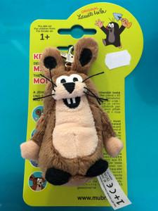 Krtek - Hare 10cm snap hook (Mole) / Krtek - Zajic 10cm karabinka / Hase 10cm Schüsselanhänger / 35917Z / Ages 1+ (8590121359177)