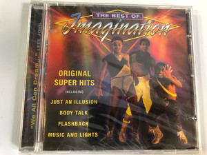 The Best Of Imagination / Original Super Hits, Including: Just An Illusion, Body Talk, Flashback, Music And Lights / Prism Leisure Audio CD 2003 / PLATCD 1203