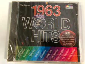 The Originals 1963 World Hits - The Oldies Collection / Jet Harris & Tony Meehan, Kathy Kirby, Spotnicks, Billy Fury, Dave Berry, Lesley Gore, Tony Sheridan, Dusty Springfield, The Searchers / Spectrum Music Audio CD 1994 / 550 688-2