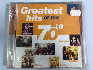 Greatest Hits Of The 70's - 1 / Peter Tosh, Sex Pistols, Madness, The Selecter, Mink Deville, Roxy Music, Blondie / Disky 2x Audio CD 2000 / DO 991602
