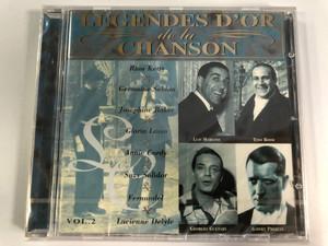 Légendes D'Or De La Chanson (Vol.2) / Rina Ketty, Germaine Sablon, Josephine Baker, Gloria Lasso, Annie Cordy, Suzy Solidor, Fernandel, Lucienne Delyle / Disky Audio CD 1996 / DC 866732