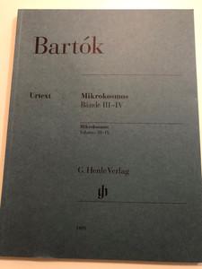 Bartók - Mikrokosmos Volumes III-IV - Bände III-IV / Urtext edition / G. Henle Verlag / HN 1409 / Paperback (9790201814094)