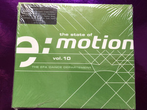 The State Of E:Motion Vol.10 / The EFA Dance Departement / E:Motion 3x Audio CD 2002 / EFA 60108-2