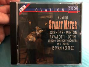 Rossini – Stabat Mater / Lorengar, Minton, Pavarotti, Sotin / London Symphony Chorus, Istvan Kertesz / Decca Audio CD 1998 / 417 766-2