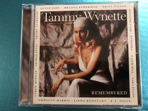 Tammy Wynette Remembered / Elton John, Melissa Etheridge, Brian Wilson, Rosanne Cash, Wynonna, Faith Hill, Sara Evans, K. T. Oslin, Linda Ronstadt, Emmylou Harris, Lorrie Morgan, George Jones / Asylum Records Audio CD 1998 / 7559-62277-2
