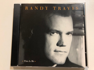Randy Travis - This is Me / Produced by Kyle Lehning / Warner Bros Records Audio CD 1994 / WE 833 / Whisper my name, Runaway Train, The box, Gonna Walk That Line (093624550129)