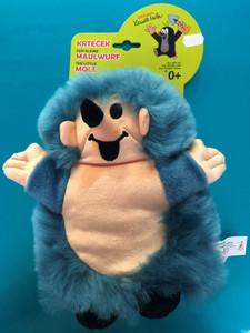 Hedgehog Hand puppet 23cm blue (Little Mole) / Ježek maňásky 23cm modrý (Krteček) / Igel Handpuppe 23cm blau (kleiner Maulwurf ) / Sündisznó kézi báb 23cm kék (Kisvakond) / 20905B / Ages 0+ (8590121500296)