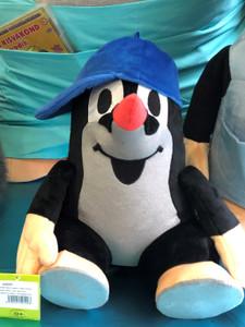 The Little Mole 30cm with cap blue, sitting / Krtek 30cm sedící, kšilt.modrá / Maulwurf 30cm mit Kappe blau, Sitzung / Kisvakond 30cm kék sapka, ülő / 44902E / Ages 0+ (8590121501293)
