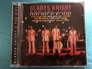 Gladys Knight And The Pips - Every Beat Of My Heart / Letter Full Of Tears, Maybe,Maybe,Baby, Operator, Come See About Me, Lovers Always Forgive, Stop And Get A Hold Of Myself, and many others / Rock & Melody Audio CD 1999 / 3445.2130-2