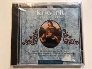 Klavier Meisterwerke / Konzert Nr. I & 2 Fur Klavier und Orchester, Concerto Per Archi E Cembalo, 7 Walzer Aus Valses Nobles, Eine Trane Fur Klavier, Sonata / Point Productions Audio CD 1992 / 2688232 G
