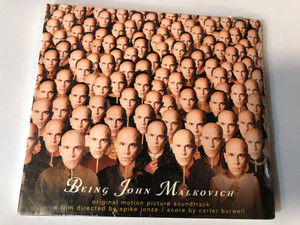 Being John Malkovich (Original Motion Picture Soundtrack) / A film directed by Spike Jonze / Score by Carter Burwell / Source Audio CD 1999 / 724384876401