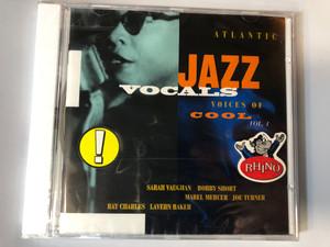 Atlantic Jazz Vocals - Voices Of Cool Vol. 1 / Sarah Vaughan, Bobby Short, Mabel Mercer, Joe Turner, Ray Charles, Lavern Baker / Atlantic Jazz Gallery Audio CD 1994 / 8122-71748-2