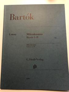 Bartók - Mikrokosmos Volumes I-II - Bände I-II / Urtext edition / G. Henle Verlag / HN 1408 / Paperback / Edited by Yusuke Nakahara (9790201814087)