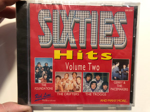 Sixties Hits - Volume Two / The Foundations, The Drifters, The Troggs, Gerry & The Packemakers, and many more... / Red Line Selection Audio CD / 300.026