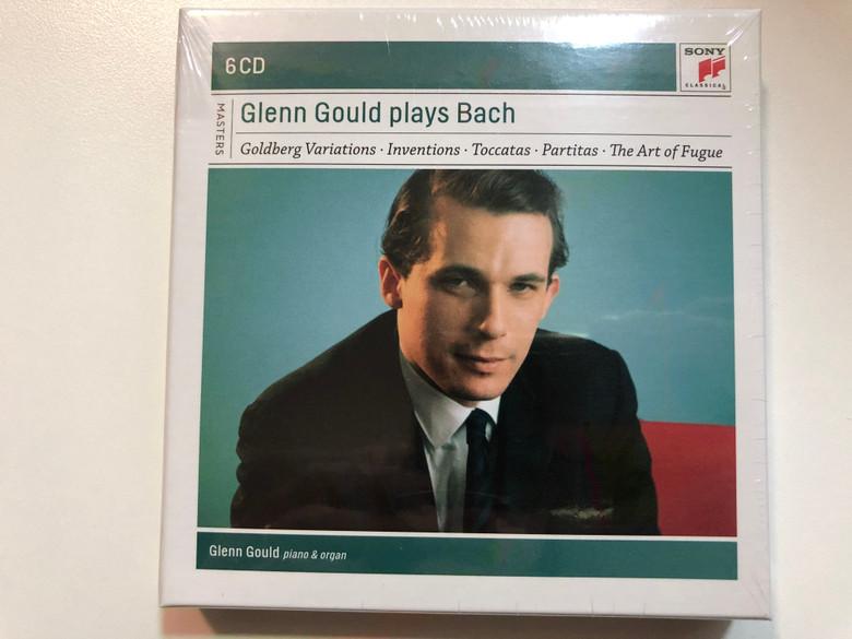 Glenn Gould – Plays Bach / Goldberg Variations, Inventions, Toccatas, Partitas, The Art of Fugue / Glenn Gould - piano & organ / Sony Classical 6x Audio CD 2011 Stereo, Mono / 88697683932