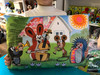 Polštář Krtek 45x30cm, kapela / Pillow Little Mole 45x30cm, band / Kissen Maulwurf 45x30, Band / Kisvakond párna 45x30, zenekar / 99914E (8590121502832)