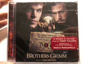 The Brothers Grimm / Music by Dario Marianelli / Milan Audio CD 2005 / 301 728-1