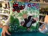 Pillow Little Mole 30x30cm, skater / Polštář Krtek 4305x30cm, bruslař / Kissen Maulwurf 30x30, Läufe / Kisvakond párna 30x30, korcsolyázó / 99915B / Zdenek Miler (8590121502870)
