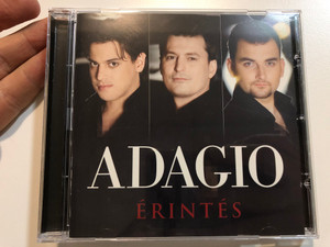 Adagio – Érintés / Sony BMG Music Entertainment Audio CD 2007 / 88697101862