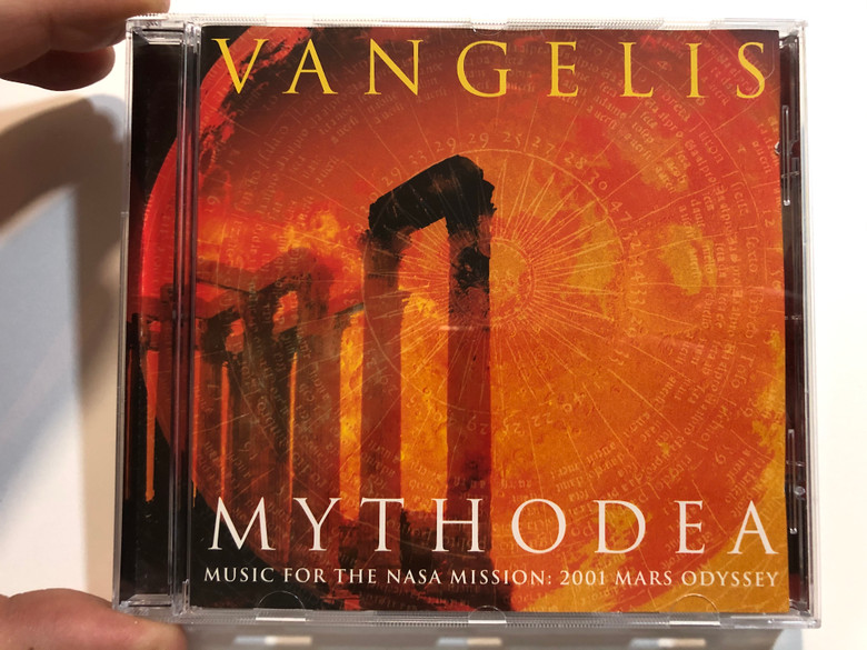 Vangelis – Mythodea (Music For The NASA Mission: 2001 Mars Odyssey) / Sony Classical Audio CD 2001 / SK 89191