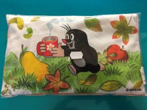 Krtek Heating Pillow - linseed filled - pear / 25x3x15cm / Nahrivaci polštárek - naplneny lnenym semínkem / Maulwurf Wärmekissen Birne - Leinsamen füllung / Kisvakond Fűtőpárna / 700W max - 1-2 min / 38903A (8590121500883)