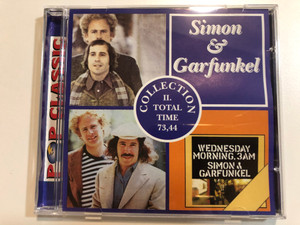 Simon & Garfunkel – Collection II / Total Time: 73,44 / Pop Classic / Euroton Audio CD / EUCD-0059