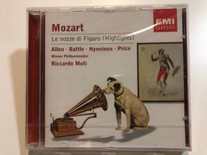 Mozart – Le Nozze Di Figaro (Highlights) / Allen, Battle, Hynninen, Price / Wiener Philharmoniker, Riccardo Muti / EMI Classics Audio CD 2001 Stereo / 724357457927