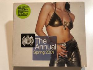 The Annual Spring 2001 / 2CD - 40 Tracks Featuring: Jakatta, M&S, Norman Bass, Schiller, Rui Da Silva & Rhythmkillaz / Ministry Of Sound 2x Audio CD 2001 / MOSCD17