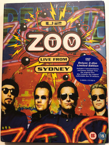 U2 - Zoo TV DVD 2006 Live from Sydney / Deluxe 2-disc Limited Edition / Includes 3 documentaries and bonus footage from the original tour / Even better than the real thing, One, Pride, With or Without you (602517012929)