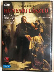 Ferenc Erkel - Hunyadi László DVD 1977 Opera in 3 Acts / Libretto by Béni Egressy / Oper in Drei Akten / Simándy, Horváth, Palcsó, Kincses / Chor und Orchester der Ungarischen Staatsoper, Ballett der Ungarischen Staatsoper (9120005651616)