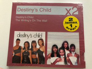 Destiny's Child – Destiny's Child, The Writing's On The Wall / Sony BMG Music Entertainment 2x Audio CD 2008 / 88697149592