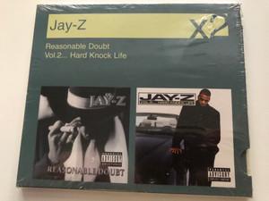 Jay-Z – Reasonable Doubt, Vol.2... Hard Knock Life / Sony BMG Music Entertainment 2x Audio CD 2007 / 88697158962