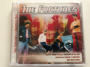 The Fortunes – Greatest Hits / Here It Comes Again, Seasons In The Sun, Storm In A Teacup, Caroline, and much more / Going For A Song Audio CD / GFS395
