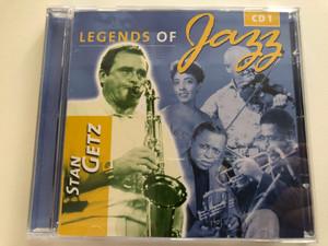 Legends Of Jazz - Stan Getz - CD 1 / Rainbowcd.com Audio CD / 6296