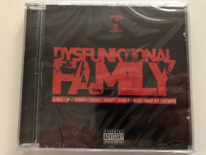 Dysfunktional Family / Ja Rule, Jay-Z, Ashanti, Juvenile, Kurupt, Crooked, N.I.N.A., Danny Boy, Eastwood / Death Row Records Audio CD 2003 / PDR1010