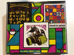 Illés – 1967-69 / Ezek A Fiatalok, Nehéz Az Út, Illések És Pofonok / Vivát 2x Audio CD 1990 / HCD 37445-46