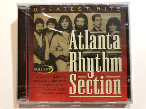 Atlanta Rhythm Section – Greatest Hits / So Into You, Spooky, Doraville, Free Spirit, Georgia Rhythm, Imaginary Lover, and many others / Brilliant Audio CD 1999 / BT 33025