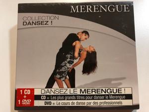 Merengue - Collection Dansez! / Dansez Le Merengue! / CD - Les plus grands titres pour danser le Merengue, DVD - Le cours de danse par des professionnels / Wagram Music Audio CD + DVD 2008 / 3130532